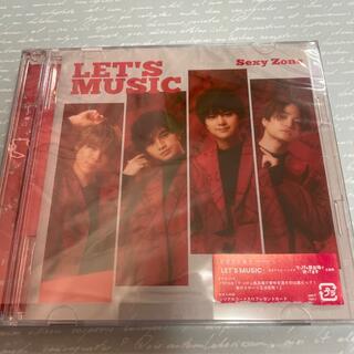 セクシー ゾーン(Sexy Zone)のSexy Zone  LET'S MUSIC 初回限定盤B(男性アイドル)
