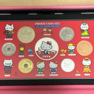 サンリオ(サンリオ)の【銀メダル付き❤️】ハローキティ 誕生30周年プルーフセット コイン 記念硬貨(その他)