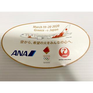 エーエヌエー(ゼンニッポンクウユ)(ANA(全日本空輸))の東京2020 JAL ANA 東京オリンピック 記念 ステッカー(ノベルティグッズ)