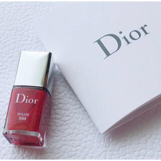クリスチャンディオール(Christian Dior)の【新品未使用】最終価格 ディオール  ネイル&ミスディオール香水サンプル付き(マニキュア)