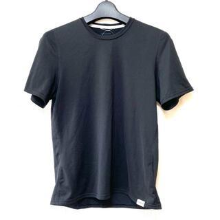 パタゴニア(patagonia)のパタゴニア 半袖Tシャツ サイズM - 黒(Tシャツ(半袖/袖なし))