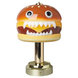 メディコムトイ(MEDICOM TOY)の送料込■UNDERCOVER HAMBURGER LAMP ハンバーガーランプ(テーブルスタンド)