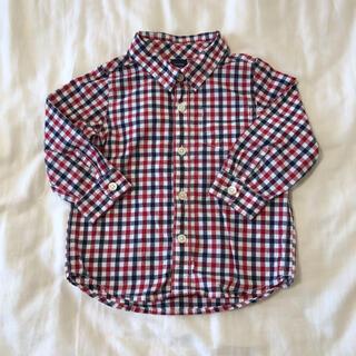 babyGAP チェックシャツ 18-24M 90