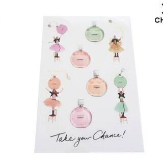 CHANEL - 【新品】CHANEL ノベルティ ステッカー シール 香水 チャンス 9枚