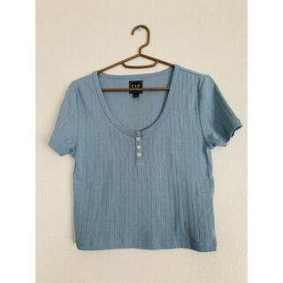 ギャップ(GAP)の試着のみ◉GAP 半袖トップス Sサイズ(Tシャツ/カットソー(半袖/袖なし))