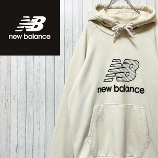 ニューバランス(New Balance)のニューバランス パーカー スウェット ビッグロゴ ラグラン マフポケット S(パーカー)