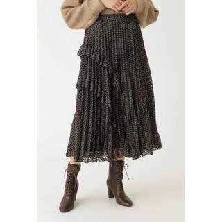 ジルスチュアート(JILLSTUART)の新品未使用 ジルスチュアート プリーツスカート(ロングスカート)