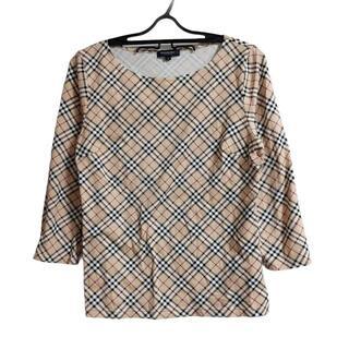 バーバリー(BURBERRY)のバーバリーロンドン 七分袖Tシャツ 2 M -(Tシャツ(長袖/七分))