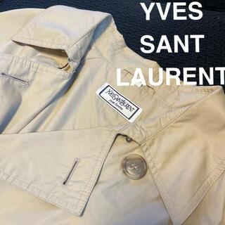 サンローラン(Saint Laurent)の【美品】イヴ サンローラン トレンチコート(トレンチコート)