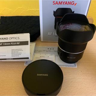 キヤノン(Canon)のCANON RF用 SAMYANG AF 14mm F2.8 RF(レンズ(単焦点))