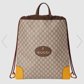 Gucci - GUCCI ドローストリング バックパック