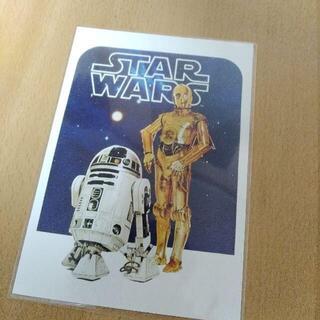 ディズニー(Disney)のスターウォーズ R2-D2 C-3PO ポストカード ディズニー(絵画/タペストリー)