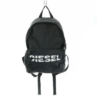 ディーゼル(DIESEL)のディーゼル DIESEL リュックサック デイパック ロゴ プリント 黒(リュック/バックパック)