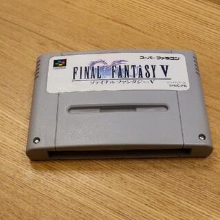 ファイナルファンタジー スーパーファミコンソフト(家庭用ゲームソフト)