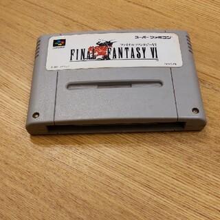 ファイナルファンタジー6 スーパーファミコンソフト(家庭用ゲームソフト)