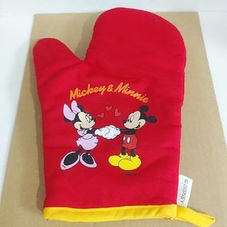 ディズニー(Disney)のミッキー ミニーミトン 鍋つかみ(キッチン小物)