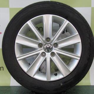 フォルクスワーゲン(Volkswagen)のフォルクスワーゲン 6R系 POLO純正 ジルコニア 4本セット(タイヤ・ホイールセット)