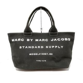 マークバイマークジェイコブス(MARC BY MARC JACOBS)のマークバイマークジェイコブス - 黒×白(ハンドバッグ)