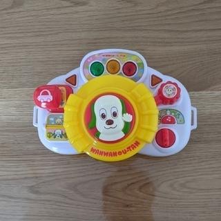 ジョイパレット(ジョイパレット)のワンワンとおでかけ!しんごうピカピカハンドル(知育玩具)