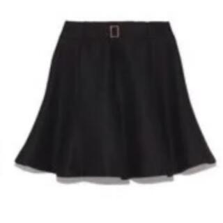 リリーブラウン(Lily Brown)のLily Brown ベルト付フレアースカート(ミニスカート)