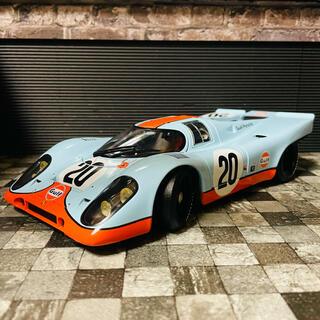 ポルシェ(Porsche)の1/18 AUTOart ポルシェ 917K スティーブ・マックイーン(ミニカー)