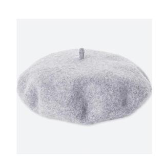 ユニクロ(UNIQLO)のユニクロ UNIQLO ウールベレー(ハンチング/ベレー帽)