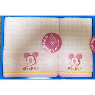 ミッキーマウス(ミッキーマウス)のディズニー ミッキーマウス タオル(タオル/バス用品)