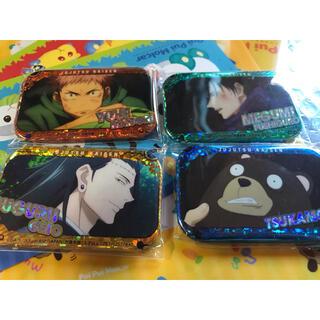 バンダイナムコエンターテインメント(BANDAI NAMCO Entertainment)の呪術廻戦  ホログラムスクエア缶バッジ 4種セット(バッジ/ピンバッジ)