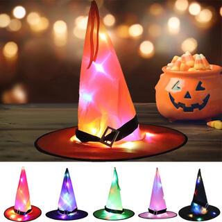 ハロウィン 魔女の帽子 5カラー(小道具)