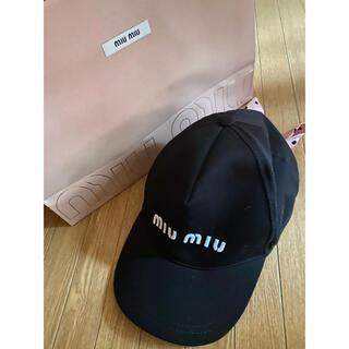 ミュウミュウ(miumiu)のmiumiu キャップ(キャップ)