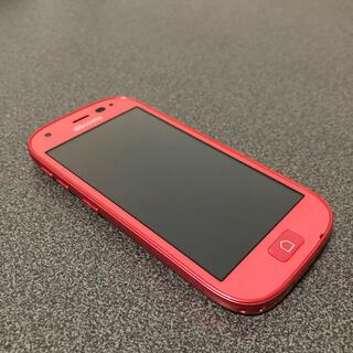 富士通 - らくらくスマートフォン4 F-04J Pink docomo SIMロック解除