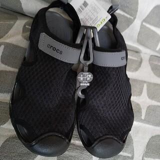 クロックス(crocs)の新品★クロックス  22センチ(サンダル)