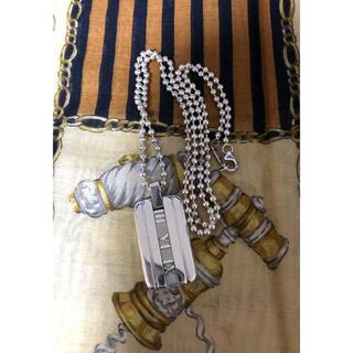 ティファニー(Tiffany & Co.)のティファニー アトラスプレート ネックレス(ネックレス)