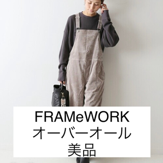 FRAMeWORK - FRAMeWORK ダメージベルベットオーバーオール