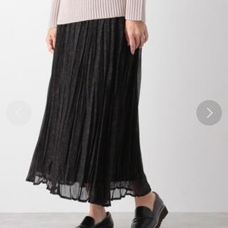 レプシィム(LEPSIM)のホリプリーツスカート(ロングスカート)