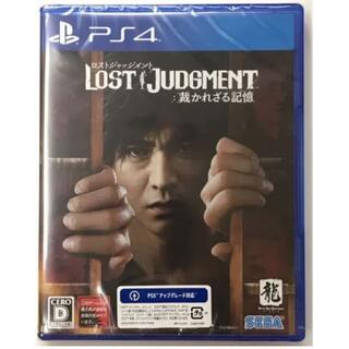 新品 PS4 ロストジャッジメント 裁かれざる記憶 PS4版(家庭用ゲームソフト)