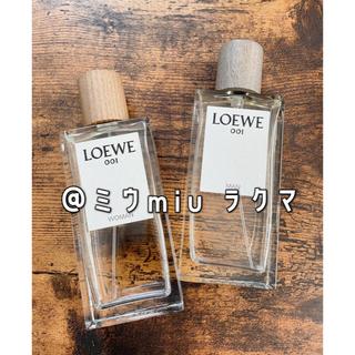 LOEWE - ロエベ 001 マン ウーマン 2本セット オードパルファン EDP