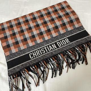 ディオール(Dior)のDior check スカーフ(マフラー)