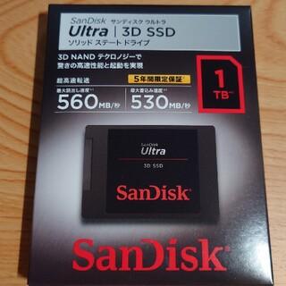 サンディスク(SanDisk)のSanDisk SSD Ultra 1.0TB SDSSDH3-1T00-J25(PCパーツ)