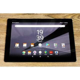 エクスペリア(Xperia)のわけありSony Xperia Tablet Z4 SOT31 ブラック(タブレット)