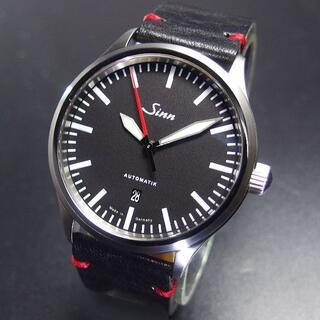 シン(SINN)の定価33万円 超美品 SINN 836 自動巻き 43㎜ 100m防水 ジン 箱(腕時計(アナログ))