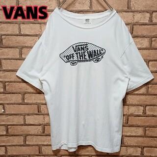 ヴァンズ(VANS)のVANS バンズ フロント プリント メンズ 半袖 Tシャツ(Tシャツ/カットソー(半袖/袖なし))