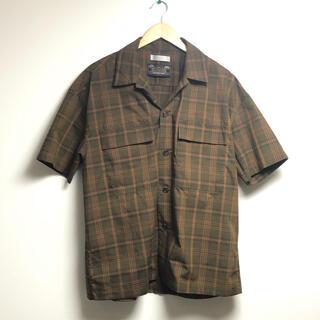 センスオブプレイスバイアーバンリサーチ(SENSE OF PLACE by URBAN RESEARCH)の新品 未使用 センスオブプレイス チェック シャツ アーバンリサーチ(Tシャツ/カットソー(半袖/袖なし))