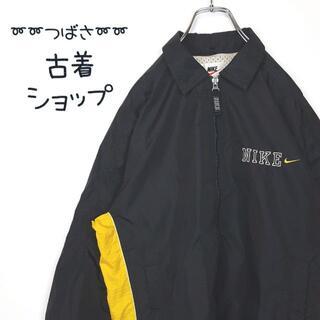 ナイキ(NIKE)の【銀タグ】刺繍 NIKE ナイロンジャケット 古着 ワンポイント マルチカラー(ナイロンジャケット)