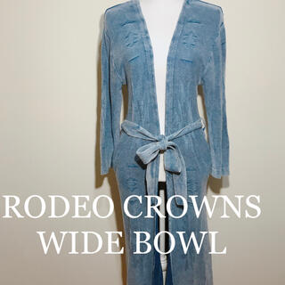 ロデオクラウンズワイドボウル(RODEO CROWNS WIDE BOWL)のRODEO CROWNS WIDE BOWL オルテガ柄 ロングカーディガン(カーディガン)