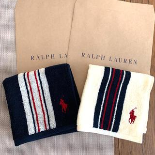 Ralph Lauren - ラルフローレン タオルハンカチ 2枚セット