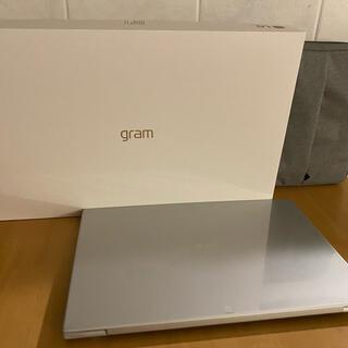 LG Electronics - 2021年製 LG gram16インチ ケース付き