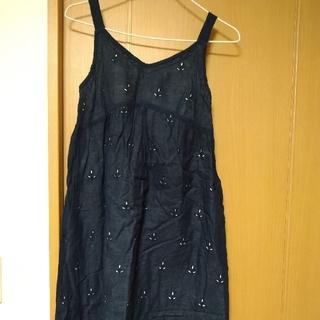 キッドブルー(KID BLUE)の美品 キッドブルー 紺色ワンピース(ルームウェア)
