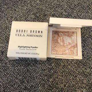 ボビイブラウン(BOBBI BROWN)のボビイブラウン ミニ ハイライティングパウダーL01ピンクグロウ  新品(フェイスカラー)