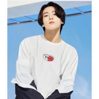 フィラ(FILA)のFILA×BTS ジョングク着用モデルTシャツ 新品未開封(Tシャツ(半袖/袖なし))